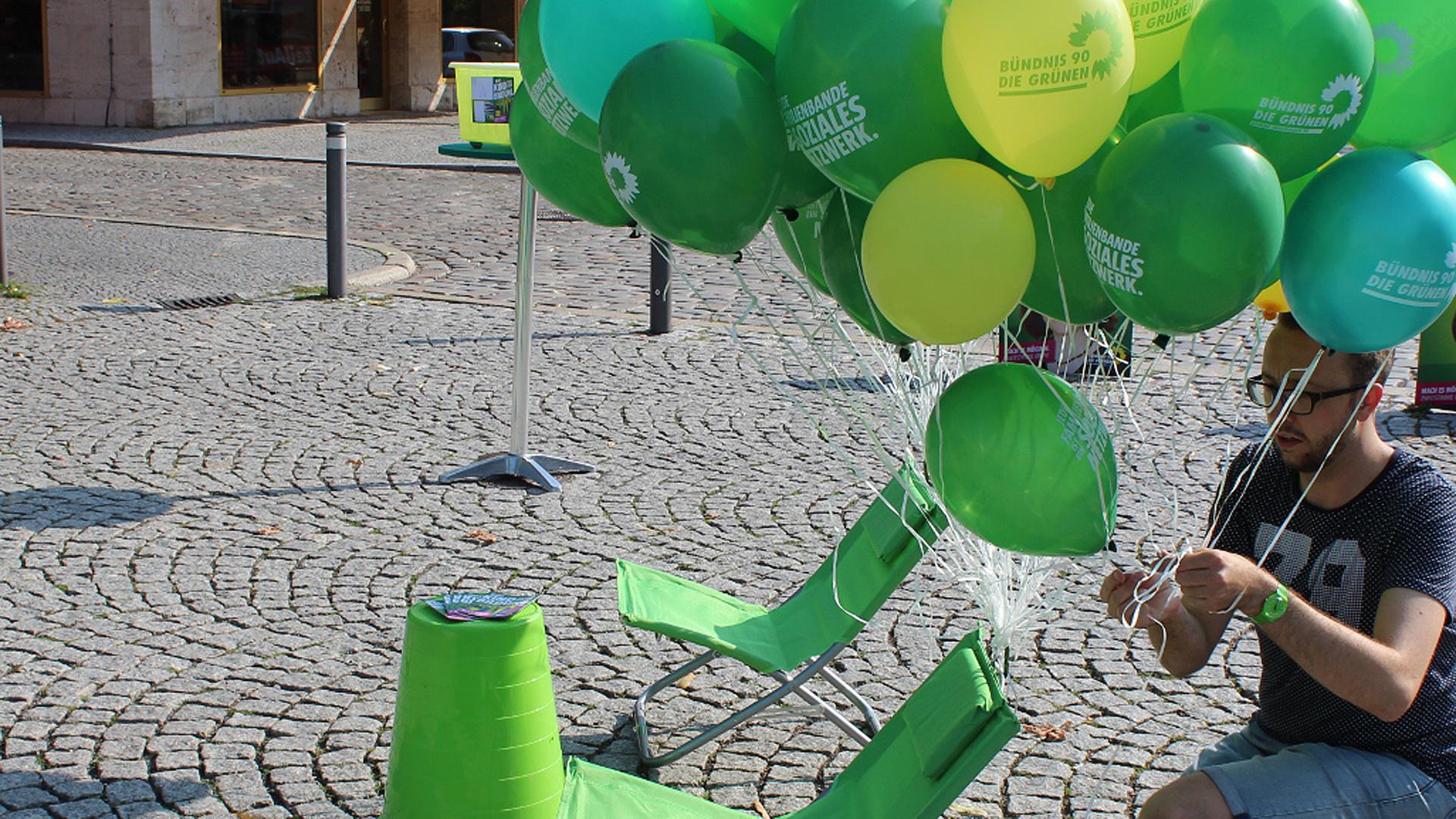 Grüne Promis machen Wahlkampf in Thüringen