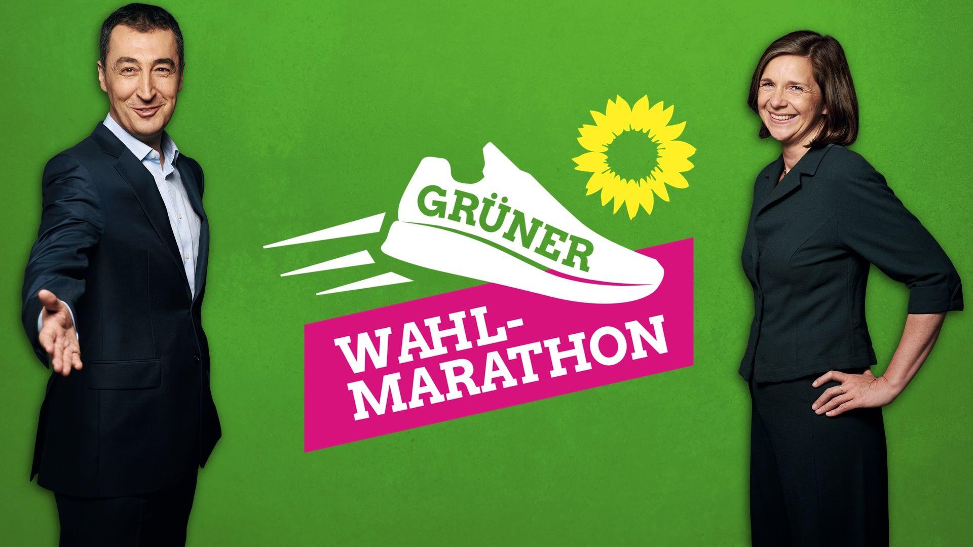 Grüner Wahlmarathon mit Katrin Göring-Eckardt in Erfurt