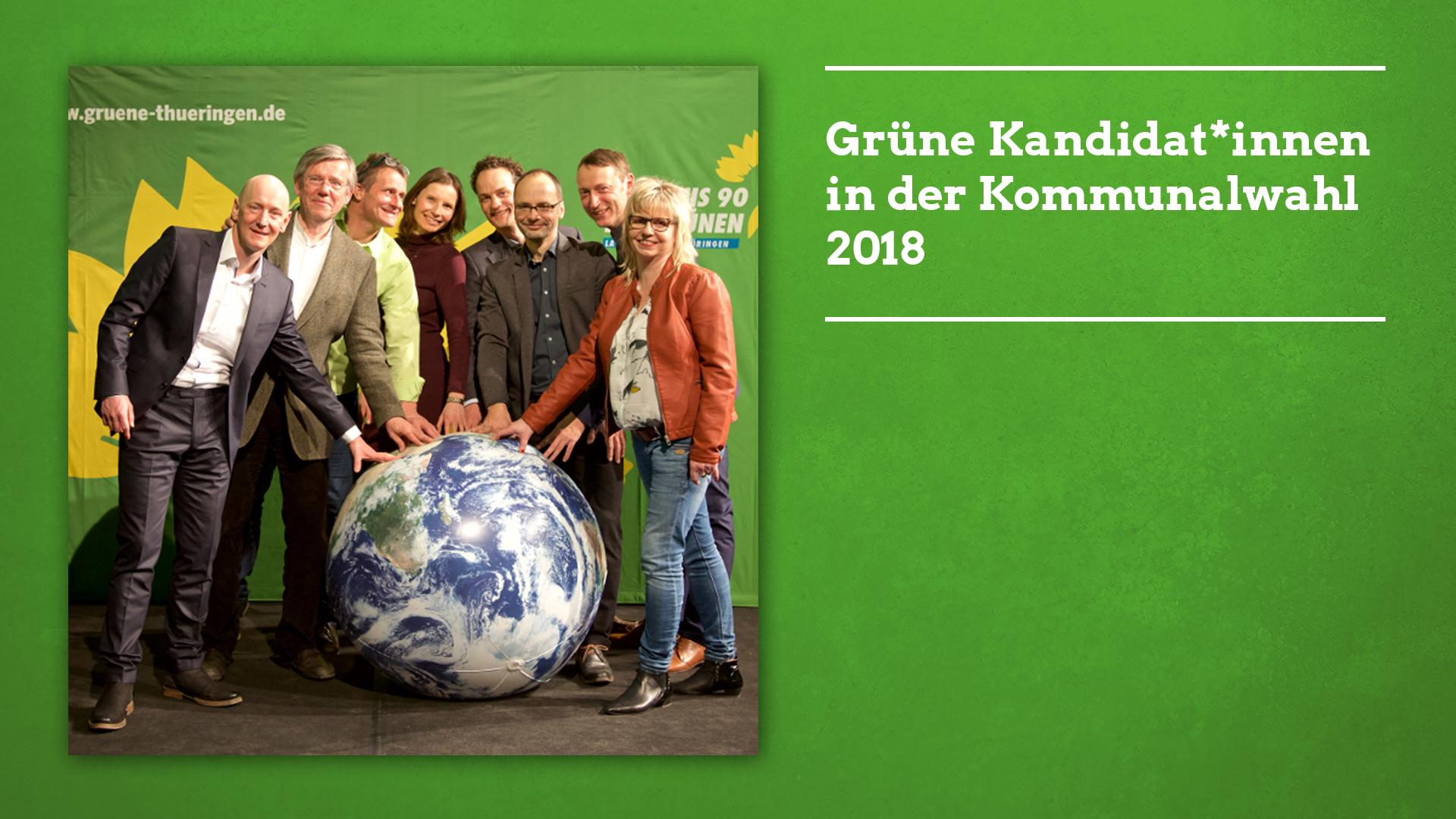 Grüne Kandidat*innen in der Kommunalwahl 2018