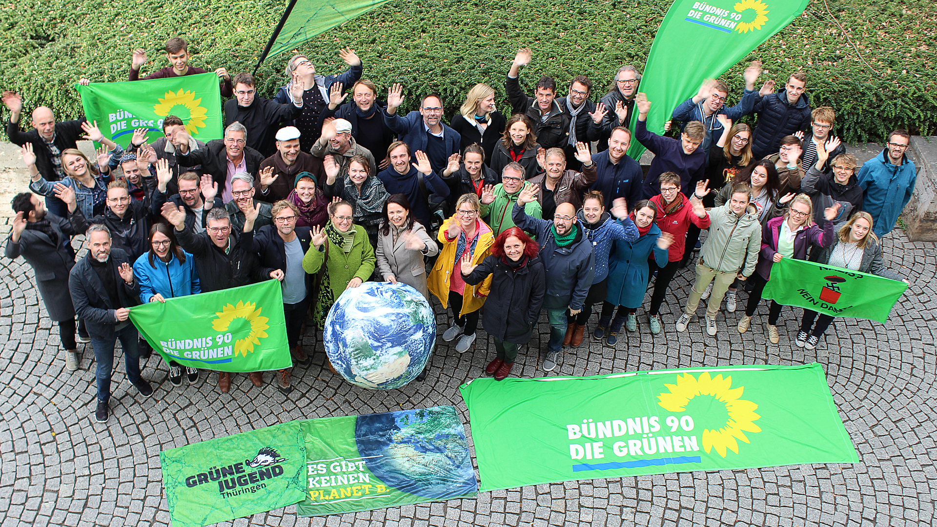 Genau ein Jahr vor der #ltwth19: Grün wächst!