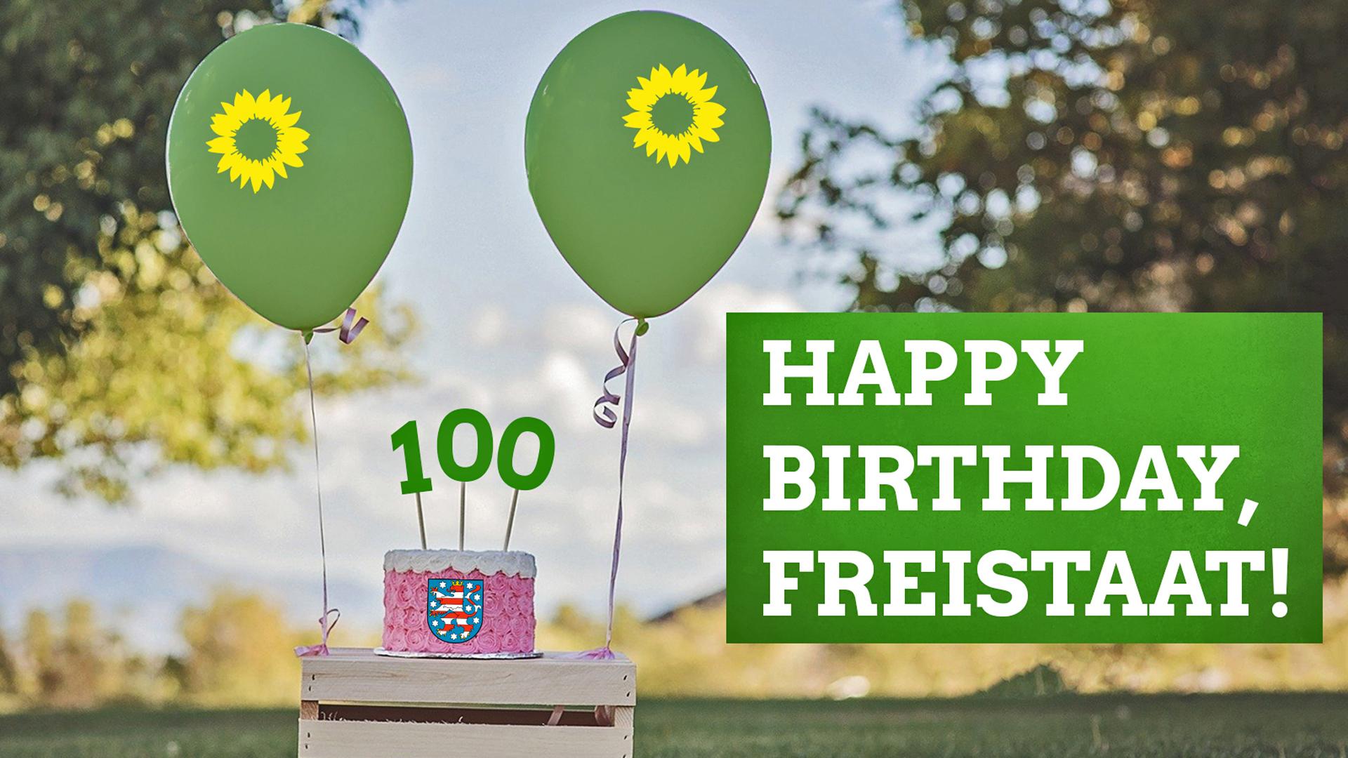 100 Jahre Thüringen: Happy Birthday, Freistaat!