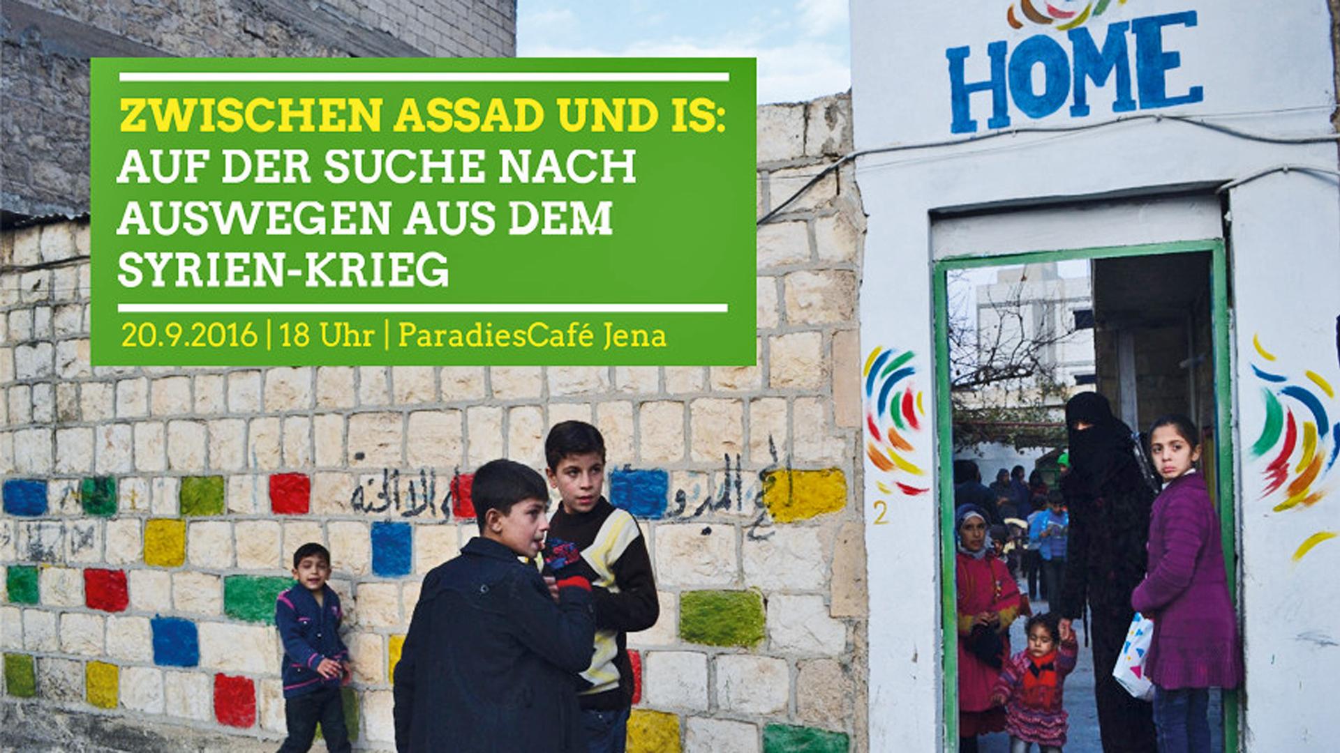 Syrien zwischen Assad und IS