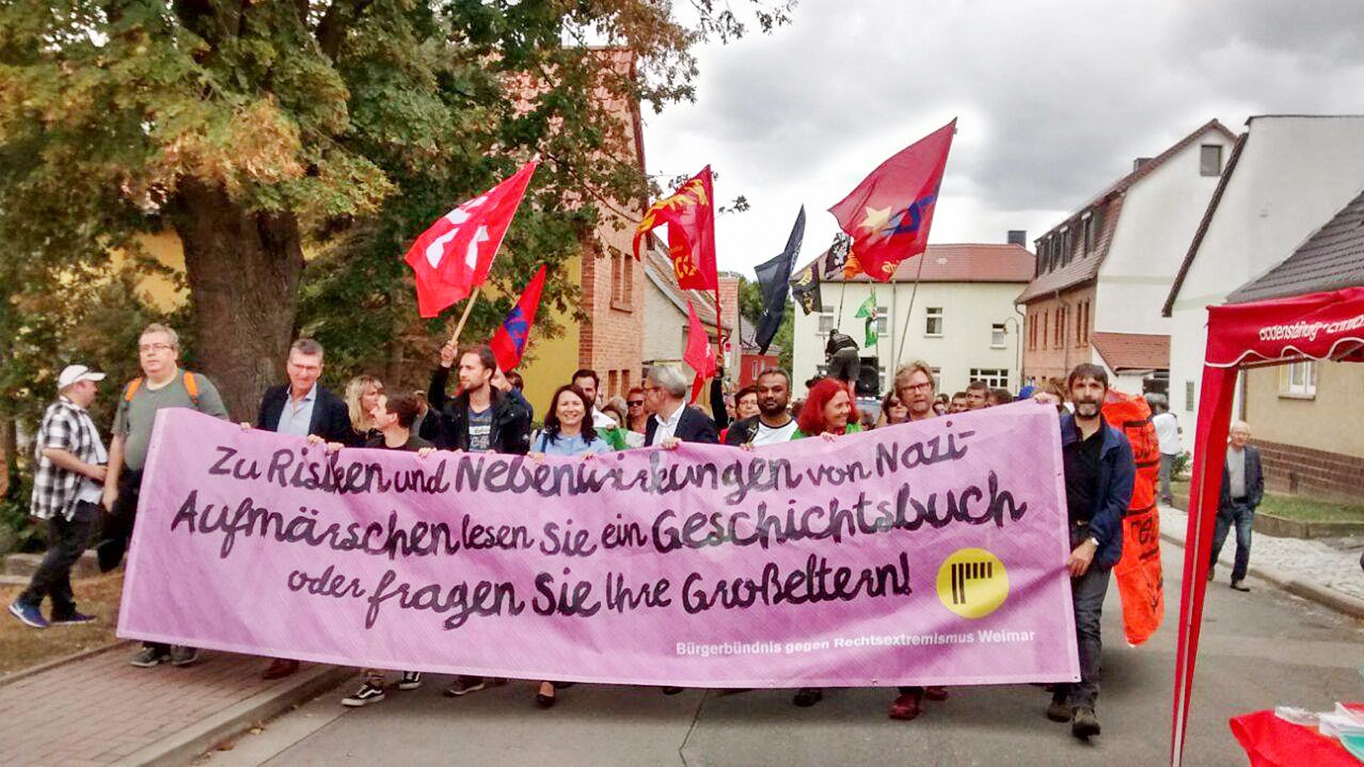 Erfolg gegen Rechtsrock in Mattstedt