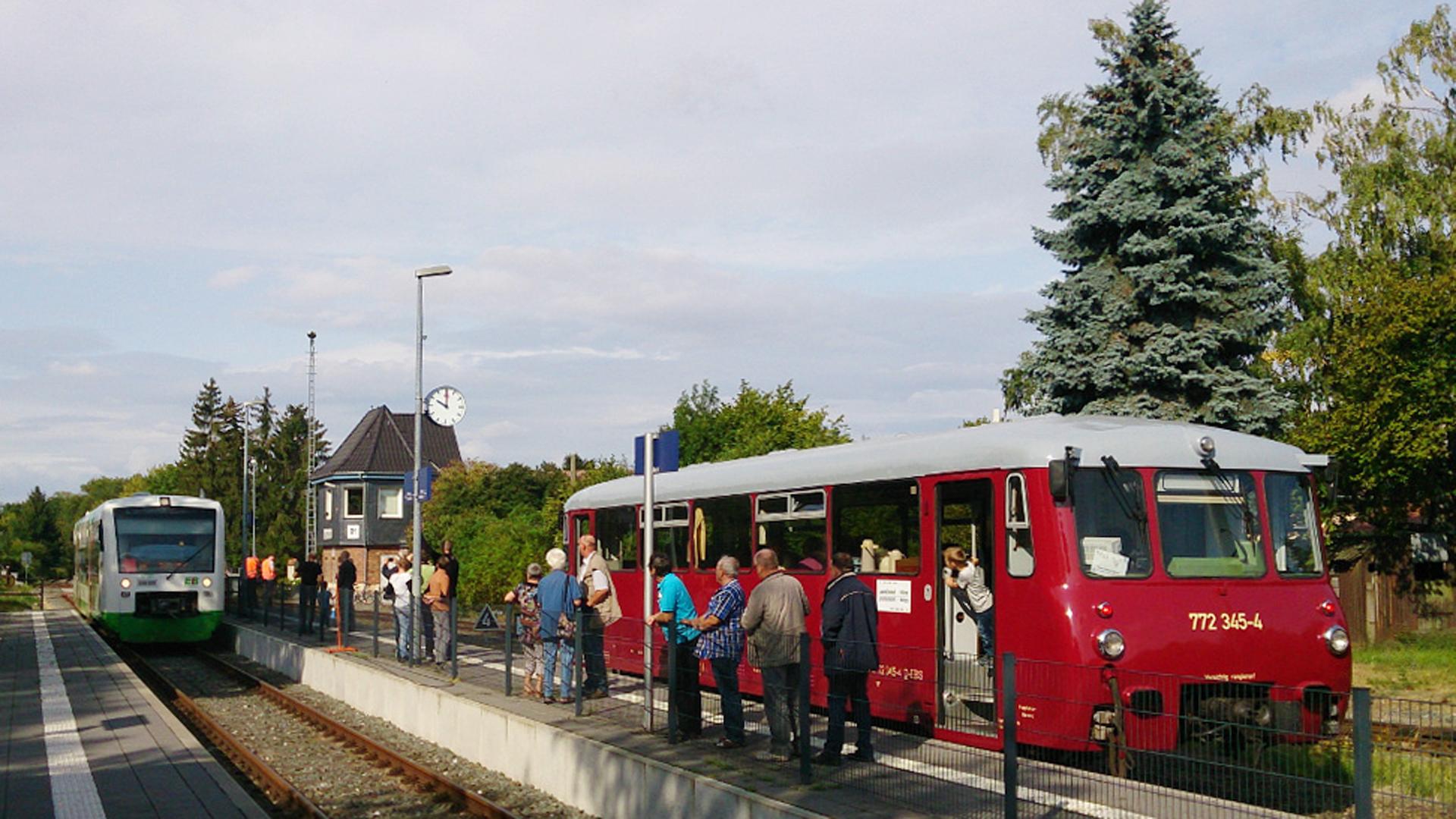 Pfefferminzbahn – demnächst von Sömmerda bis Jena?