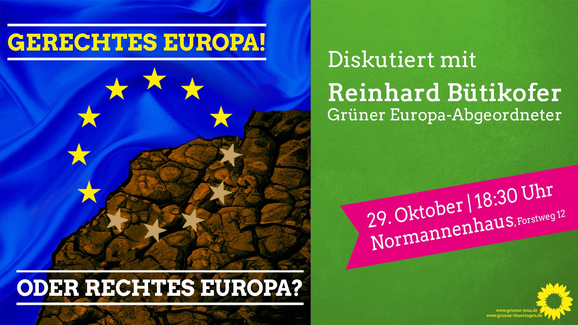 """""""Gerechtes Europa! … oder rechtes Europa?"""""""