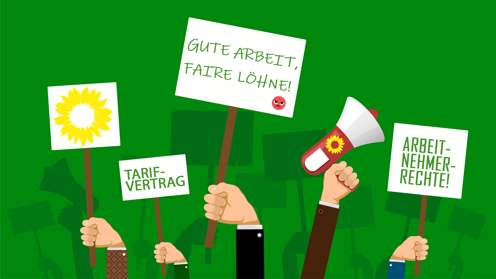 GewerkschaftsGrün in Thüringen