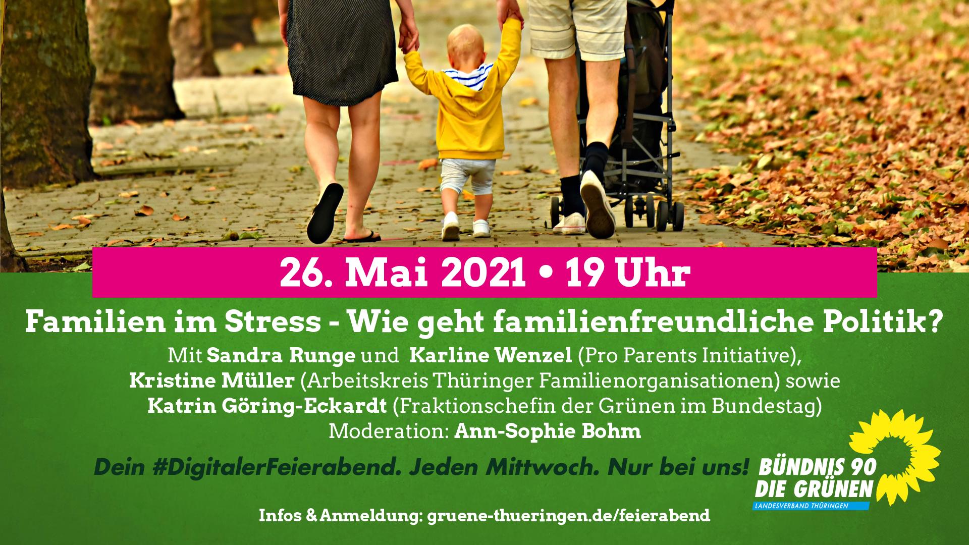"""""""Familien im Stress – Wie geht familienfreundliche Politik"""""""