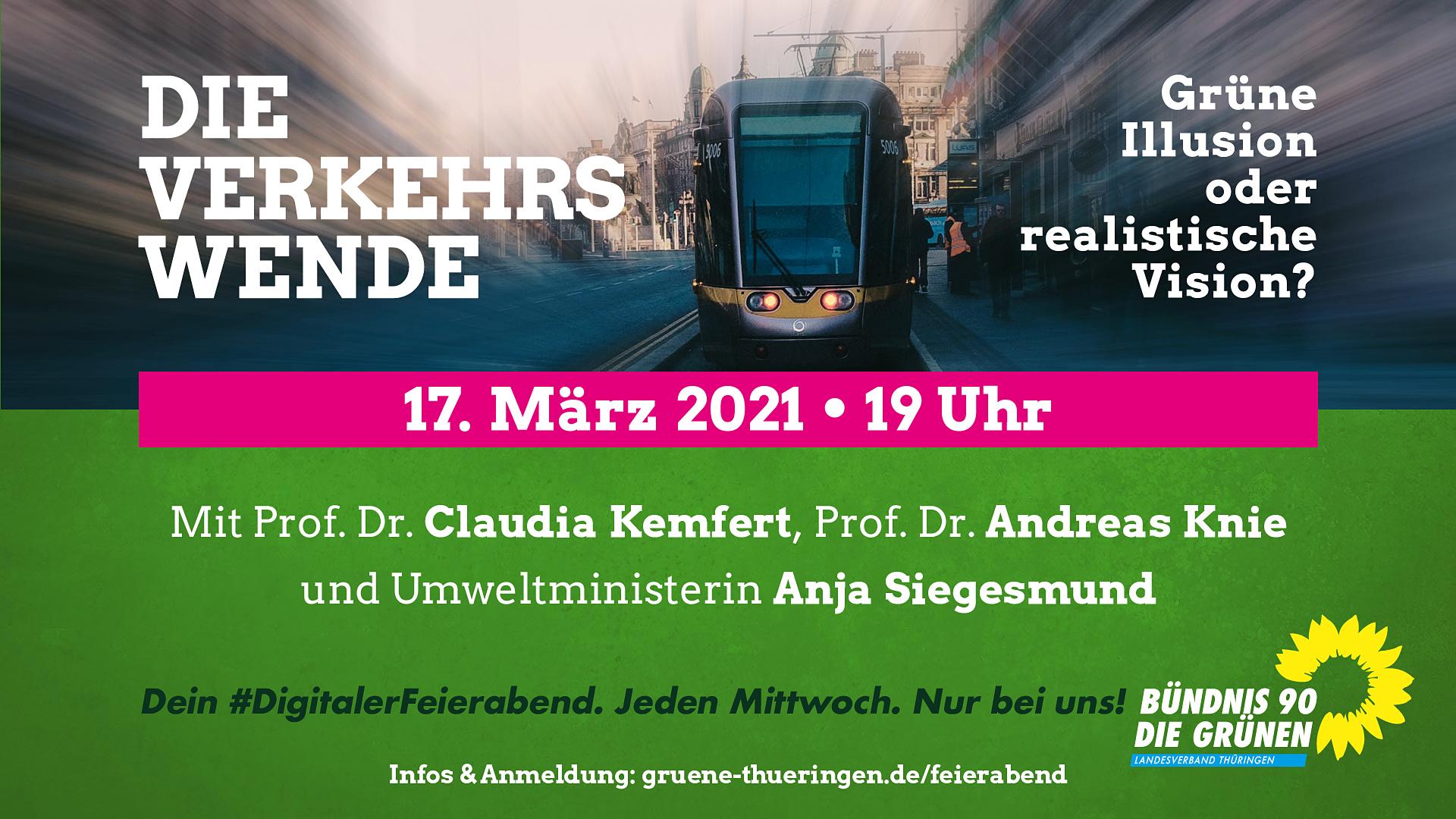 """""""Die Verkehrswende – Grüne Illusion oder realistische Vision?"""""""