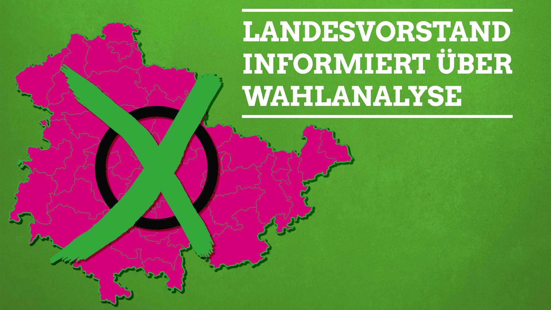 Landtagswahl 2019 – Landesvorstand informiert über Wahlanalyse