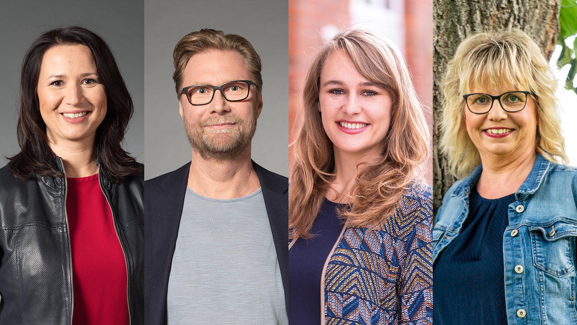 Grüne Landtagsfraktion: Anja und Dirk legen Mandat nieder, Laura und Babett rücken nach