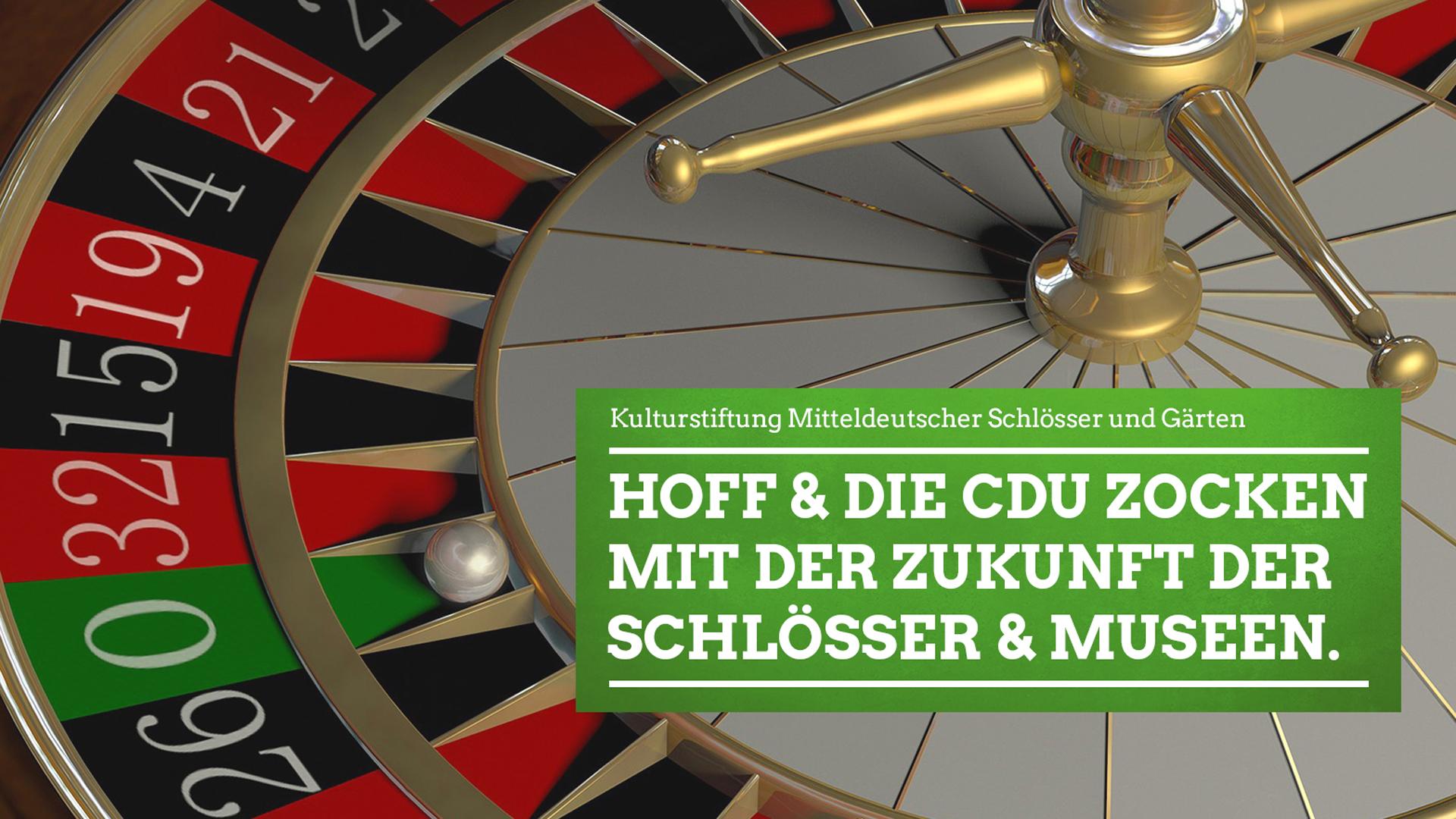 Hoff und CDU zocken mit Zukunft der Thüringer Schlösser und Museen