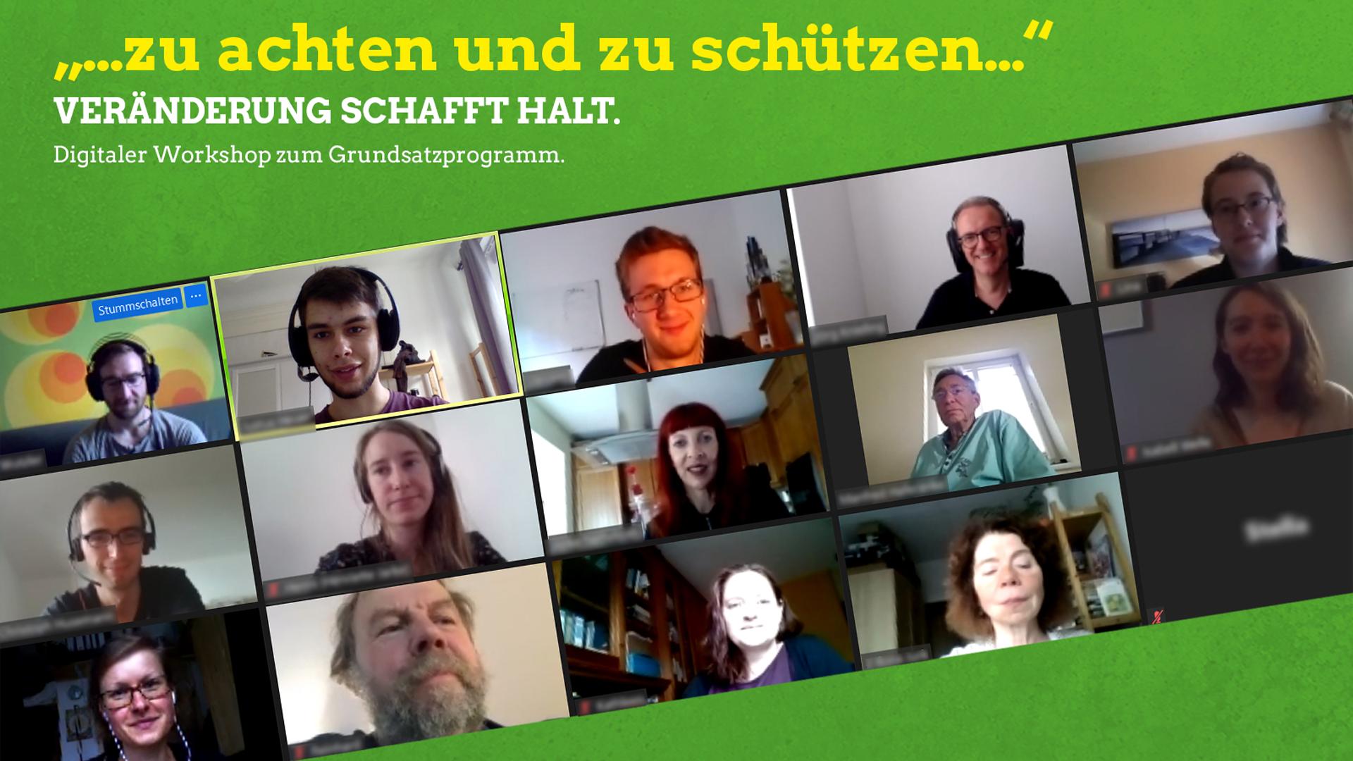 Wir leben Mitbestimmung: Workshop zum grünen Grundsatzprogramm