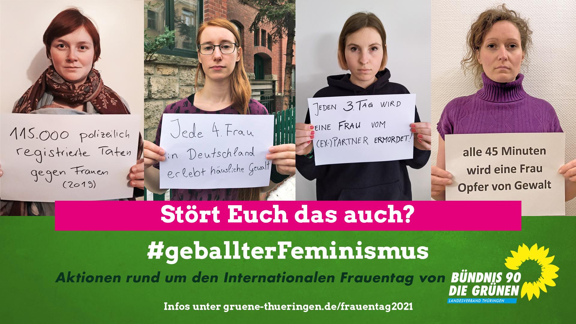 Grüne Aktionswochen zum Internationalen Frauentag