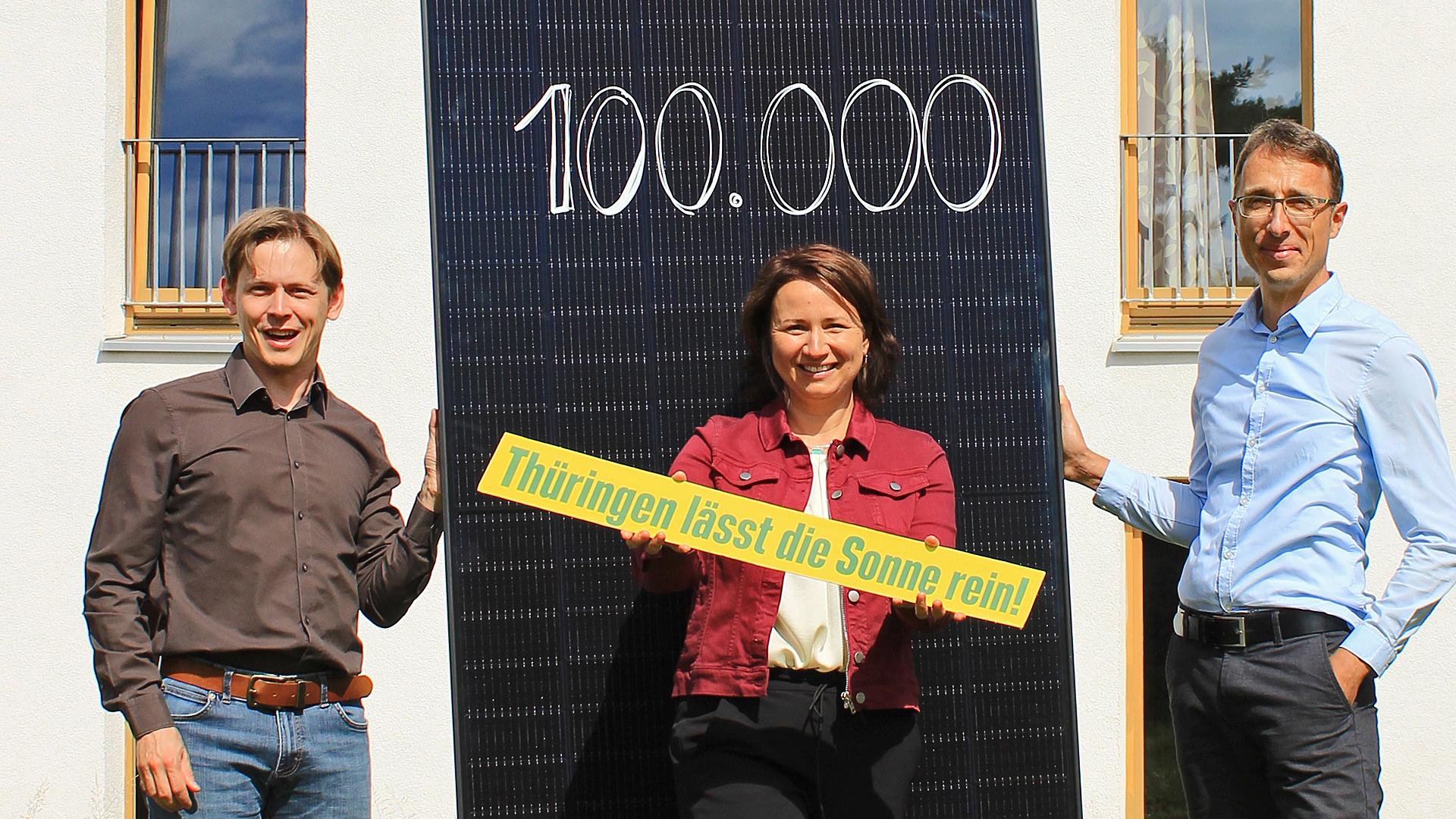 Thüringen lässt die Sonne rein – gemeinsam für 100.000 Solaranlagen